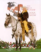 Showing Appaloosa
