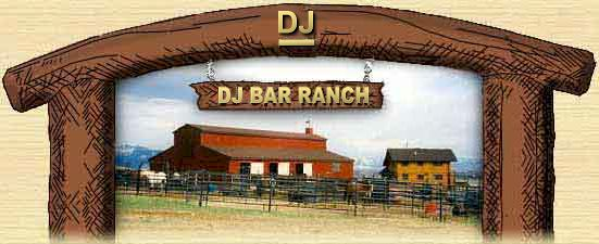 Montana. DJ Bar Ranch Barn & Corrals For Layups